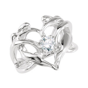 Designer Heart Ring