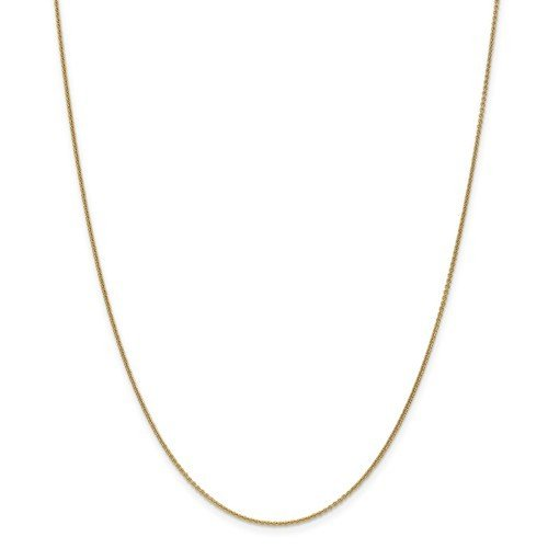 14k Yellow Gold 16in Cable Chain