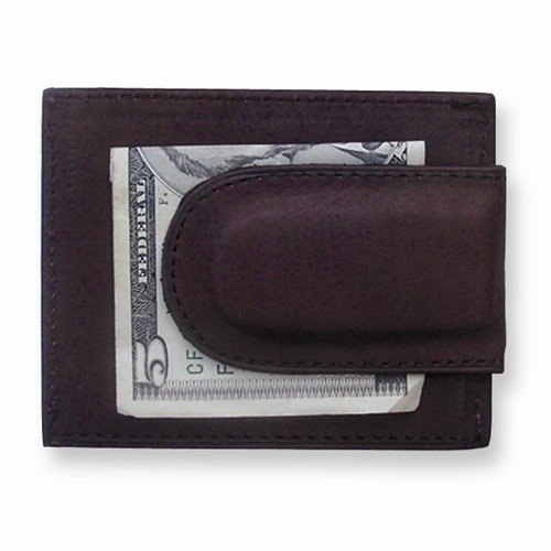 Brown Leather With Credit Card Slots Front Pocket Wallet