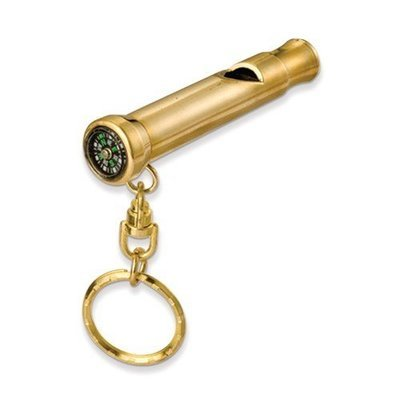 Awareness Whistle With Compass Key Ring