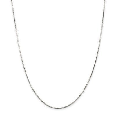 Sterling Silver 1.25mm Box Chain