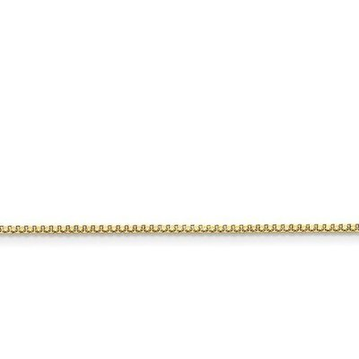 Stainless Steel IP Gold-Plated 1.5mm 24in Box Chain