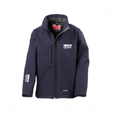 Youth Navy Softshell Jacket