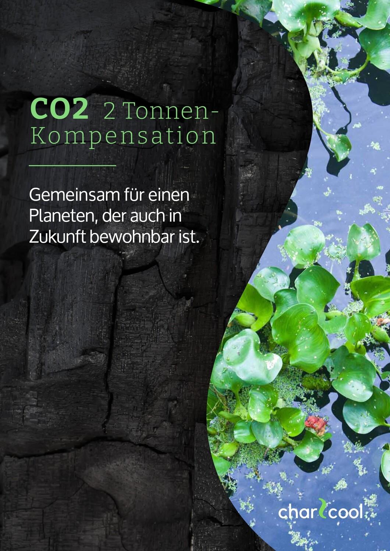 2 Tonnen  CO2-Kompensation