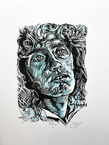 Roger Daltrey Blue