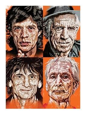 Digital iPad The Rolling Stones