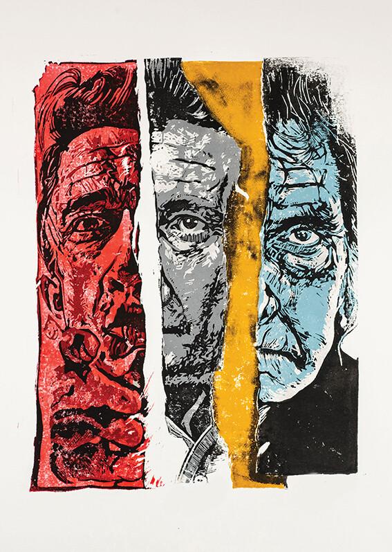 Digital Torn Johnny Cash