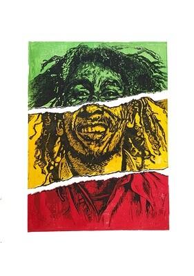 Torn Bob Marley