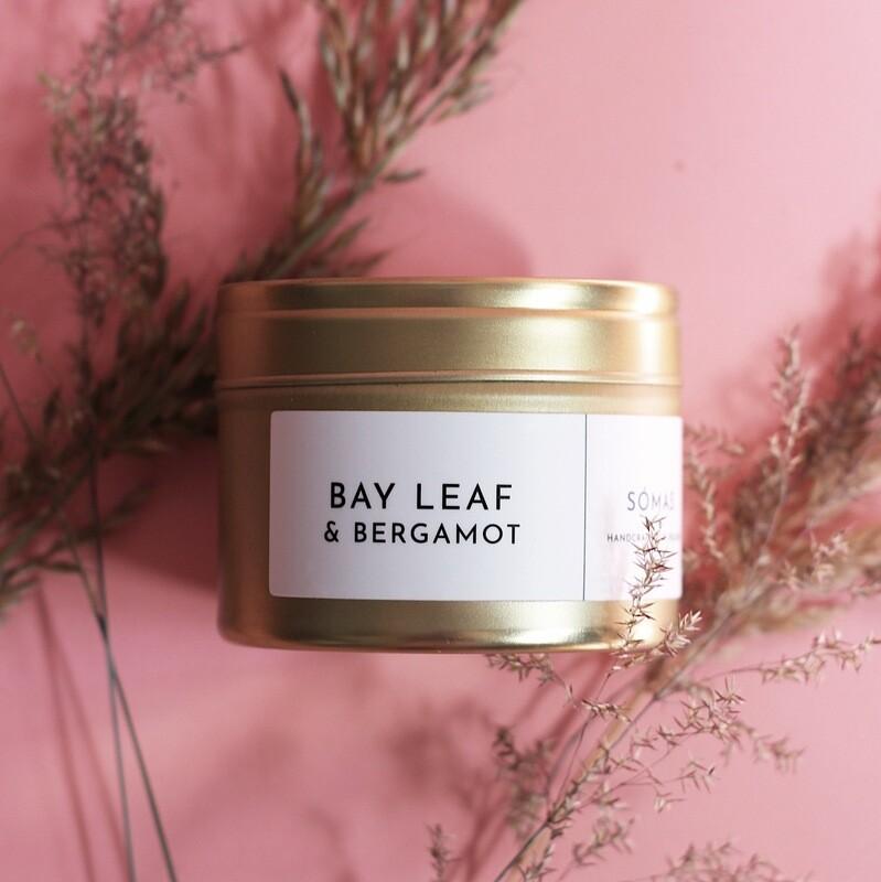 SÓMAS Bay Leaf & Bergamot Soy Candle