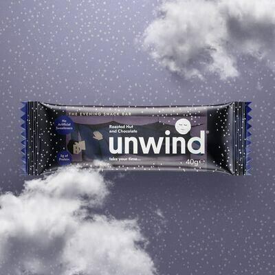Roasted Nut & Chocolate Unwind Bar