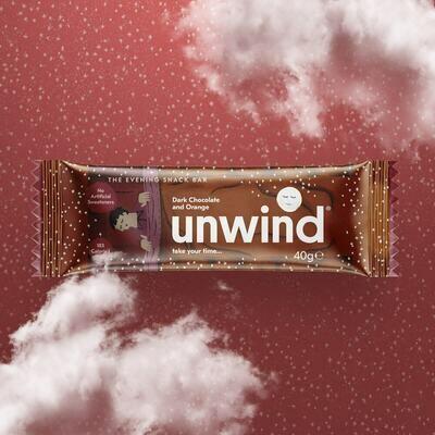 Dark Chocolate & Orange Unwind Bar