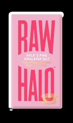 Raw Halo, Mylk & Pink Salt 70g