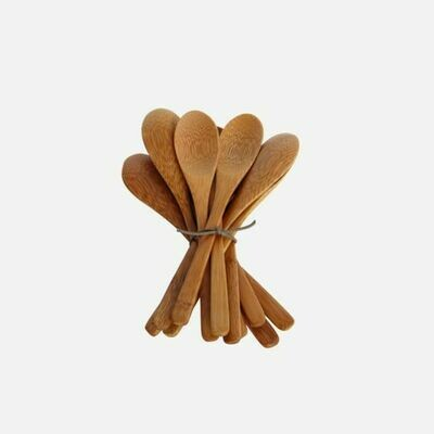 Bamboo Spoons, Set of 12