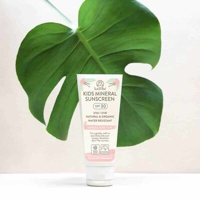 Suntribe Mineral Kids Vanilla Sunscreen 100ml SPF30