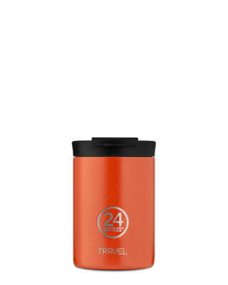 24 Bottles Travel Tumbler - Sunset Orange