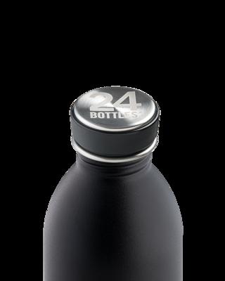 1000ml Stainless Steel Water Bottle - Tuxedo Black