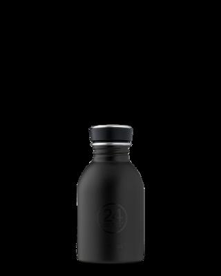 Petite 250ml Water Bottle - Tuxedo Black