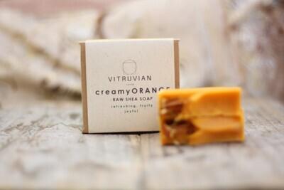Herbal Soap Gift Box - Creamy Orange