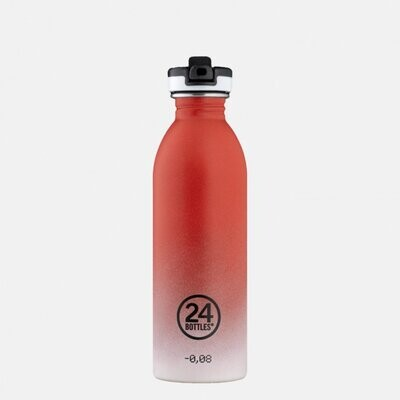 500ml Sports Bottle - Coral Pulse