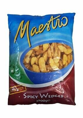 Seasoned potato wedges Maestro