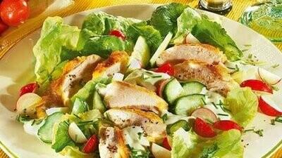 Knackige Salate/Fitnesssalatvariationen