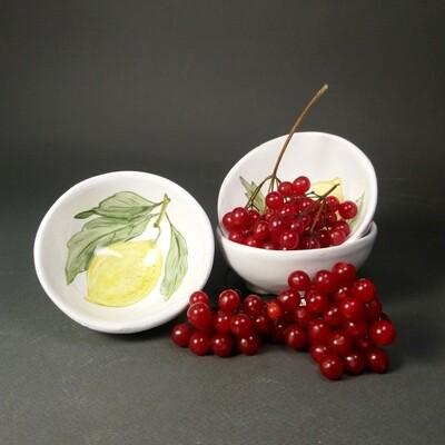 Пиала для лимона, варенья, соуса, конфет. Керамика