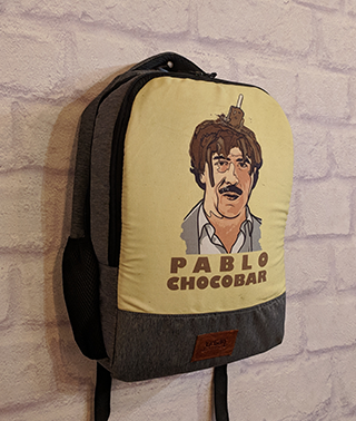 Pablo Chocobar Canvas Backpack