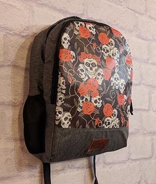 Skull Roses Backpack