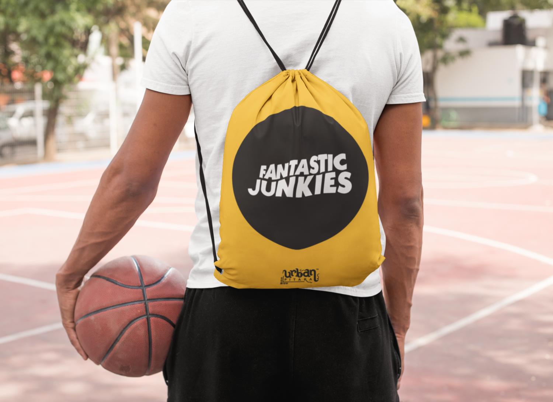 Fantastic Junkies Drawstring Bag