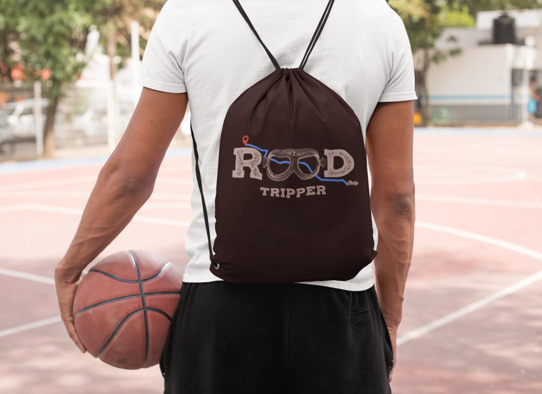 Road Tripper Drawstring Bag