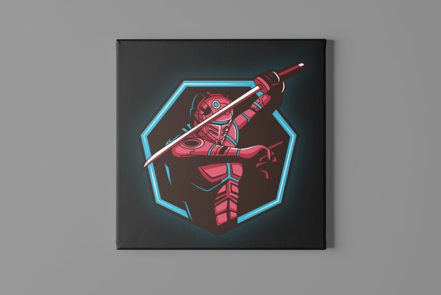 Robo Sword Canvas