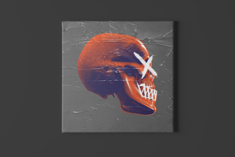 Uncheck Skull Canvas