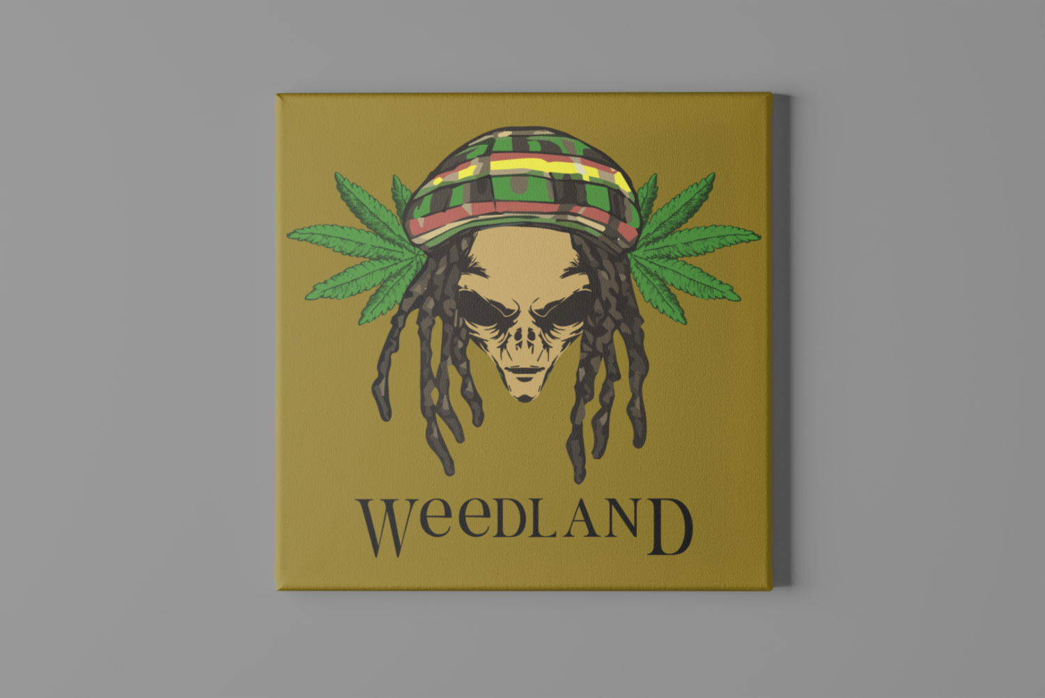 Weedland Canvas