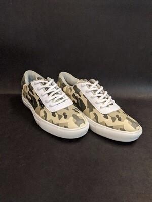 Camo Skateboarder Printed Shoes