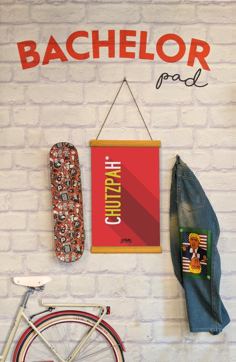 Chutzpah Clip Canvas
