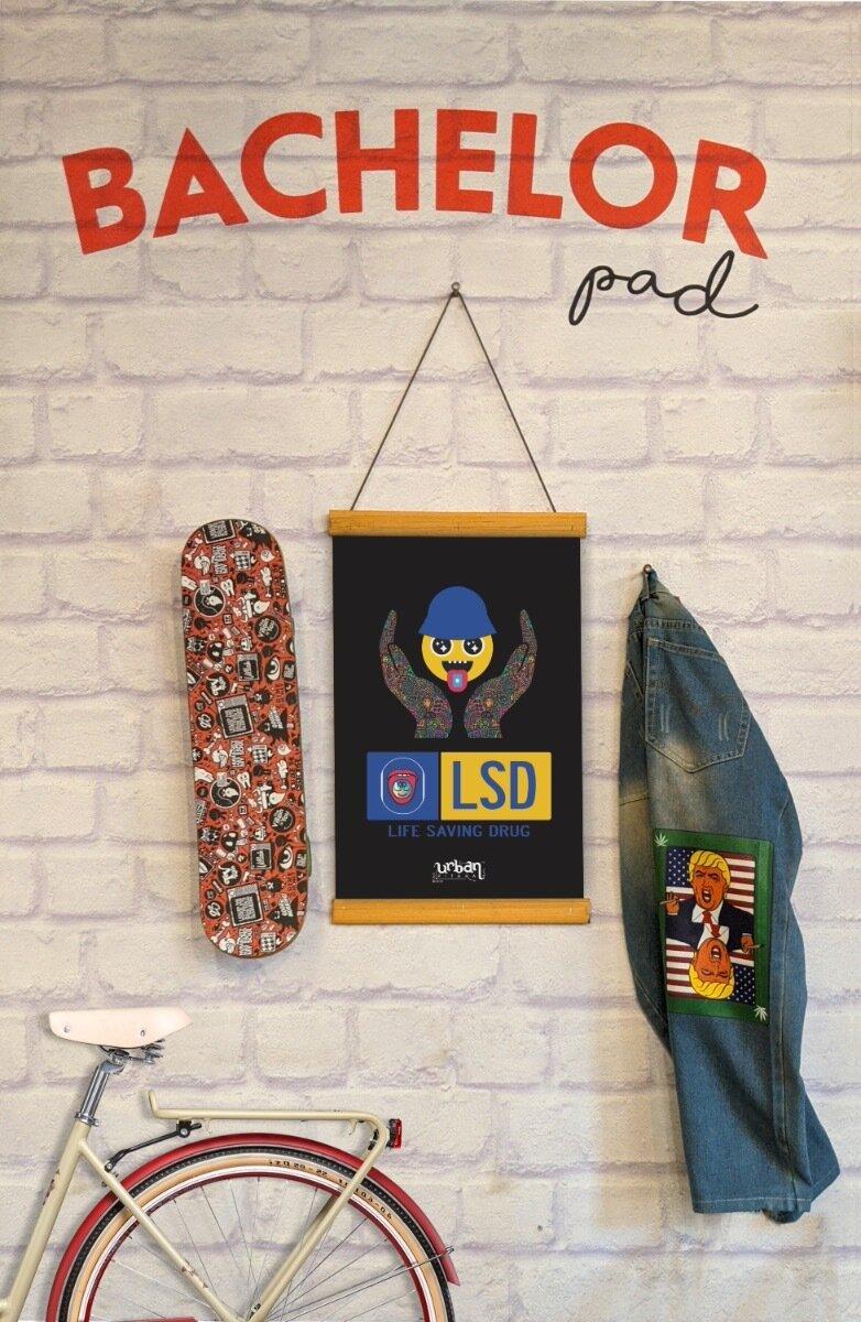 LSD Clip Canvas