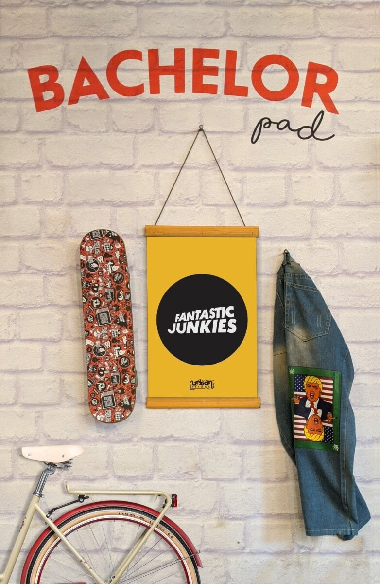 Fantastic Junkies Clip Canvas