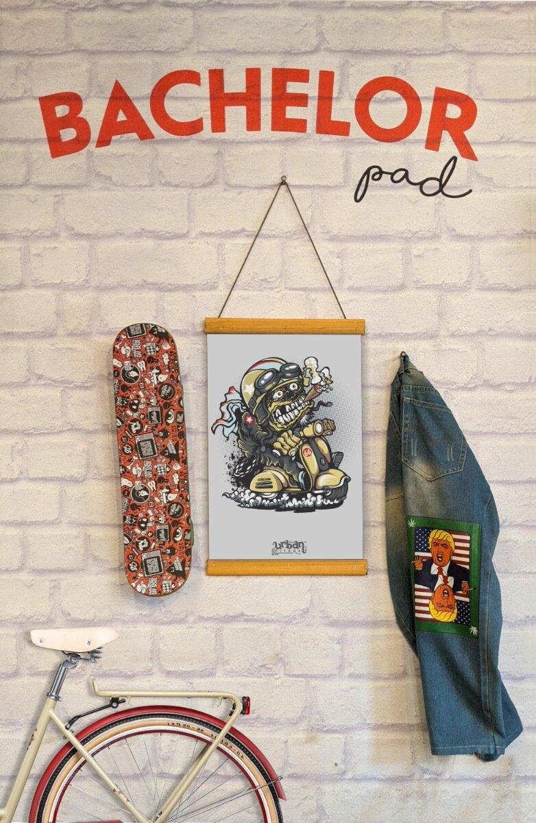 Scootomoto Clip Canvas
