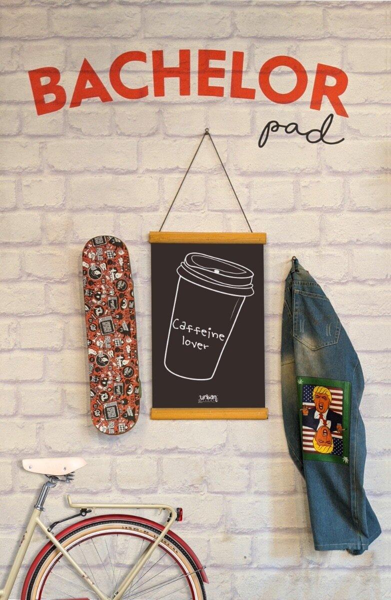 Caffeine Lover Clip Canvas