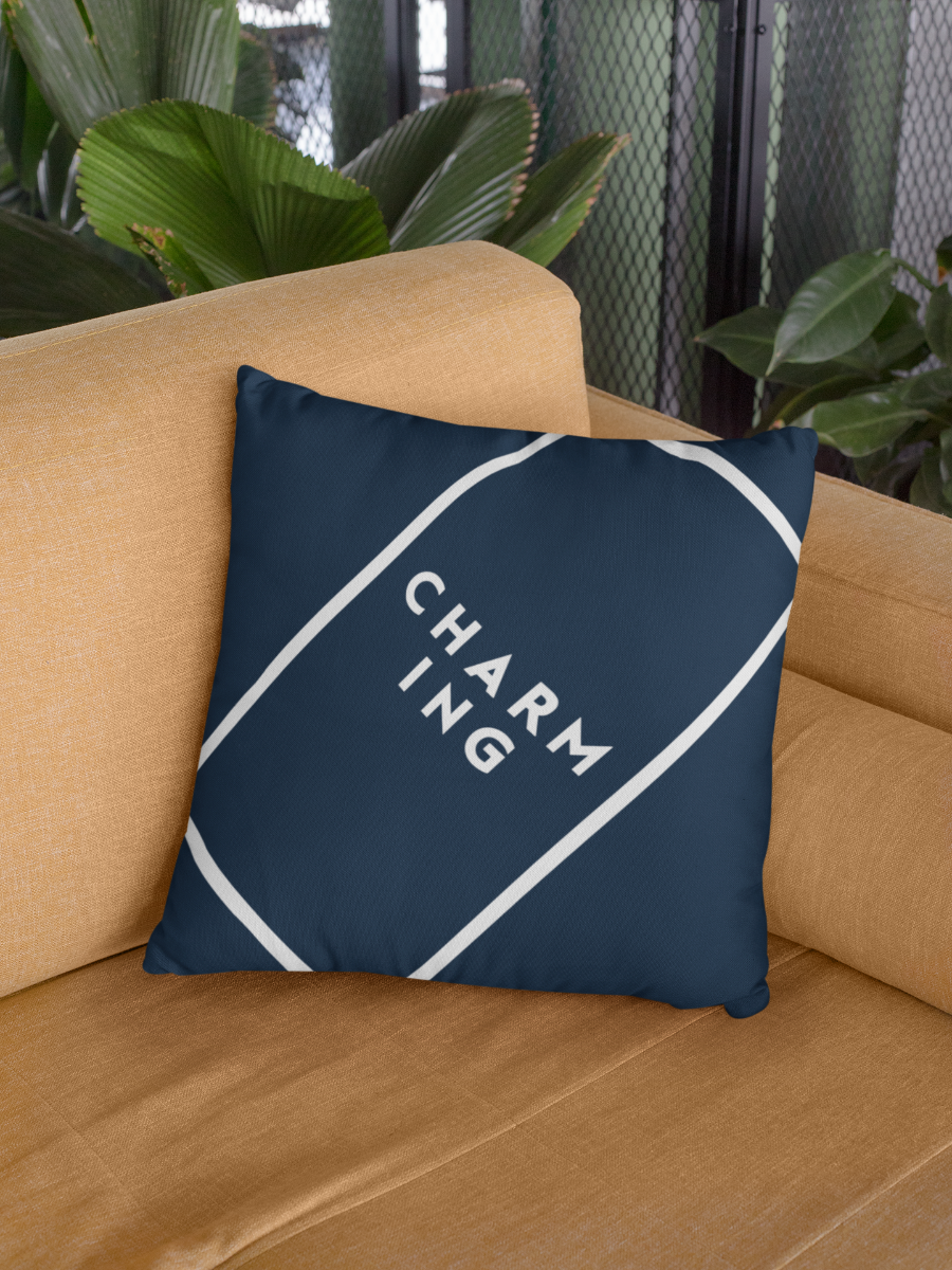 Charming Zipper Cushion Cover