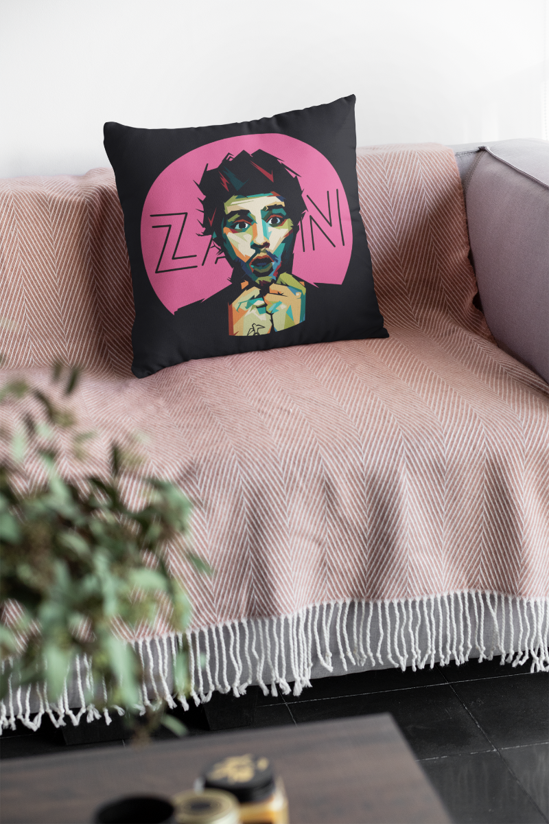 Zayn Zipper Cushion Cover
