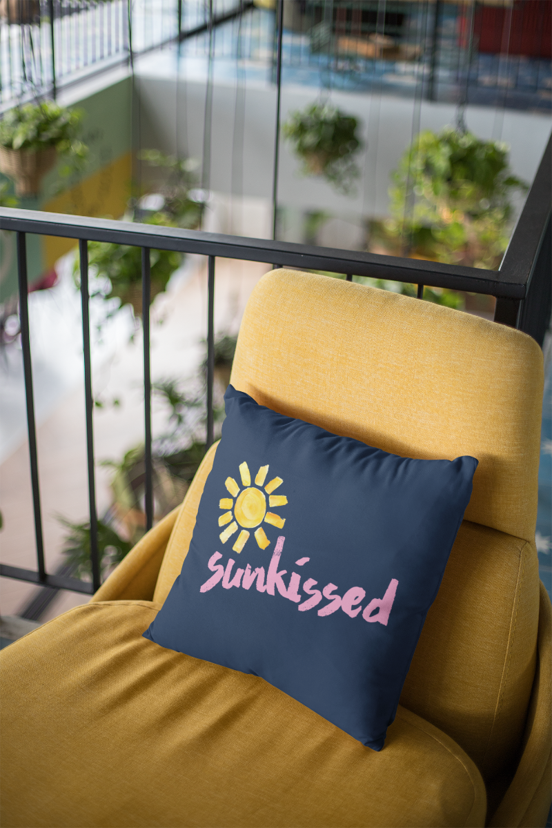 Sunkissed Zipper Cushion Cover