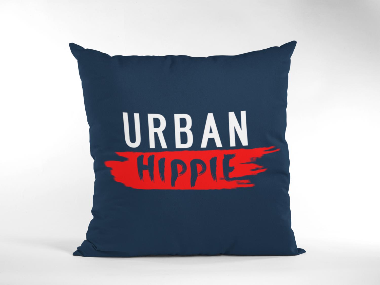 Urban Hippie Zipper Cushion Cover
