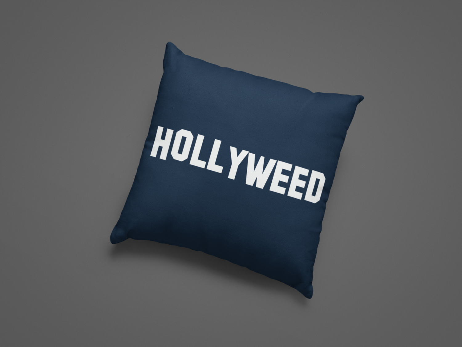 Hollyweed Zipper Cushion Cover
