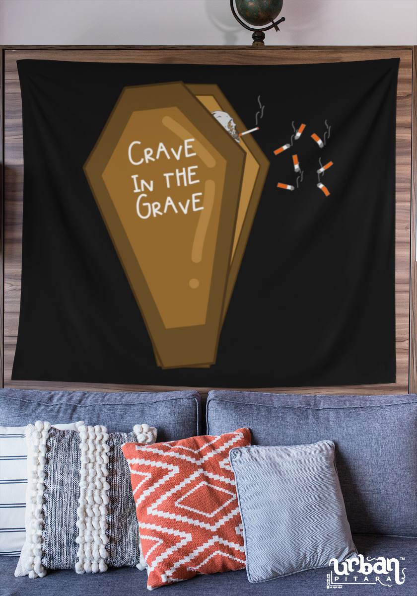 Crave in the Grave Flag