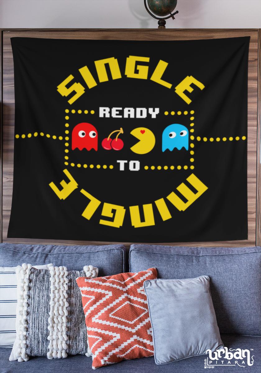 Single Ready to Mingle Flag
