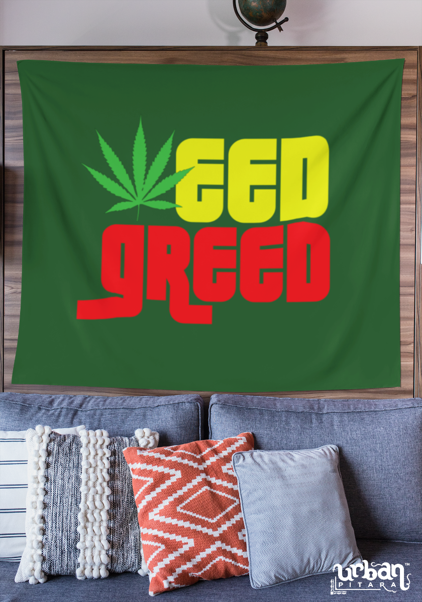 Weed Greed Flag