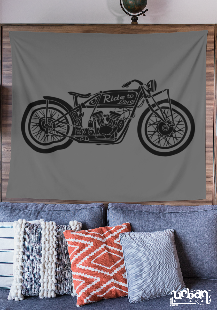 Ride To Live Flag