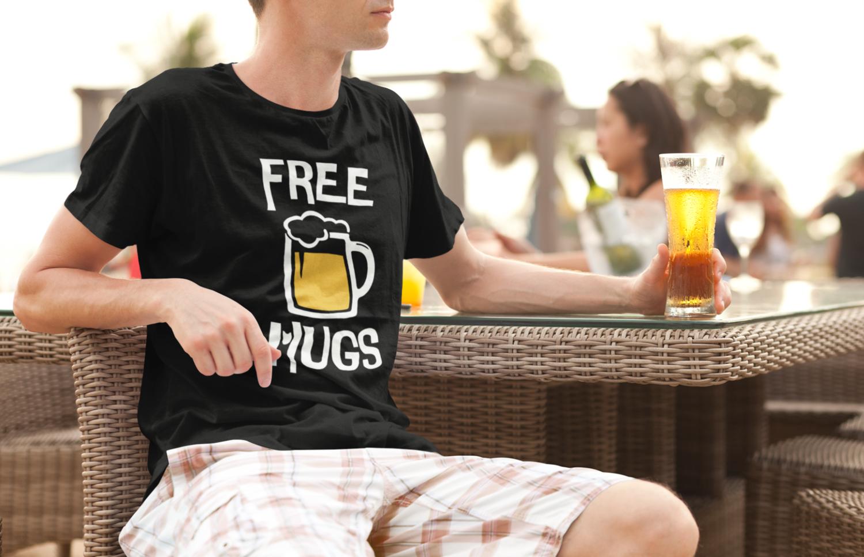 Free Mugs T-Shirt