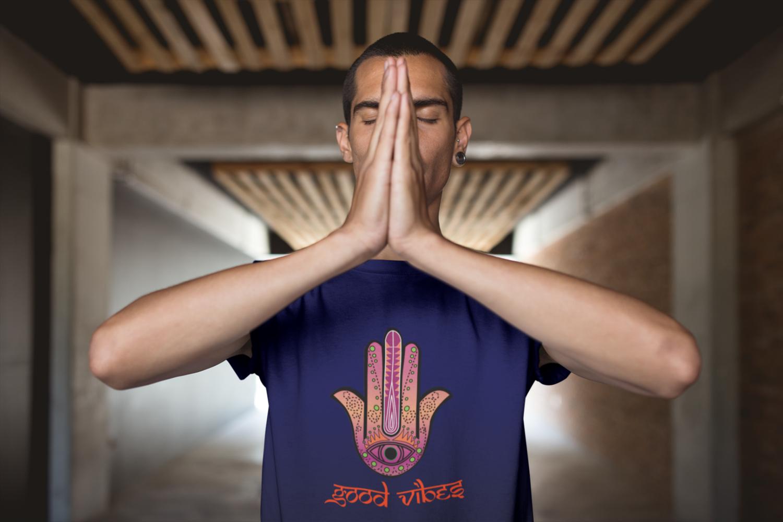 Good Vibes Hamsa T-Shirt
